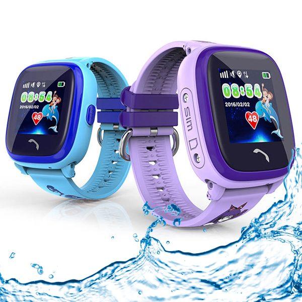 Gps Kinder Tracker Uhr Kleiner Delfin Wasserdicht Für